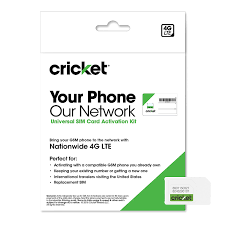 amazon com cricket wireless complete starter pack nano sim card