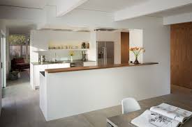 half wall kitchen designs appleberry drive residence u2014 building lab