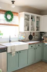 Durable Kitchen Cabinets Beautifying Kitchen With Chalk Paint Kitchen Cabinets Gallery