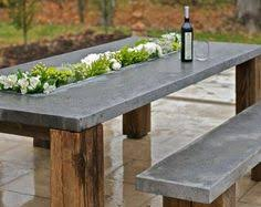 Cement Patio Table How To Make A Concrete Coffee Table Patio Table Concrete And Patios