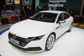 volkswagen sedan 2018 new 2018 vw arteon four door coupe is the cc u0027s more upscale