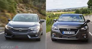 nissan sentra vs hyundai elantra 2016 honda civic vs mazda3 sedan comparison 2016 honda civic