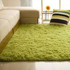 fluffy rugs anti skid shaggy area rug home room bedroom carpet