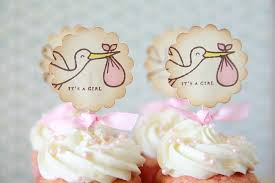 it u0027s a it u0027s a boy stork cupcake toppers baby