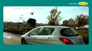 rent a car peugeot sunny cars rent a smile youtube