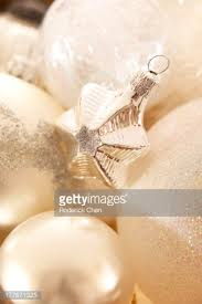 White Christmas Ornaments Canada by Small Gold Wrapped Gift Montreal Quebec Canada Stock Photo Getty