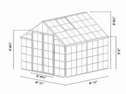 Greenhouse 8x8 Snap U0026 Grow Green Greenhouse 8 X 8 Hg8008g