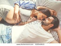 Cuddle In Bed Cuddling Stock Images Royalty Free Images U0026 Vectors Shutterstock