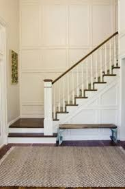 Staircase Ideas Near Entrance Stair Wainscotting H O M E E X T E R I O R S Pinterest
