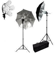 Photography Lighting Pro 1600w Photo Lighting Kit Studio Umbrella Light Set