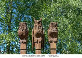 carving owl wood stock images royalty free images vectors