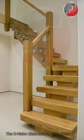 Glass Banister Uk X Vision Staircase Oak Staircase Glass Staircase