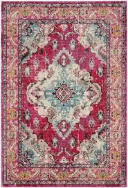 Pink Area Rugs Modern Classic Area Rug Mnc243d Monaco By Safavieh