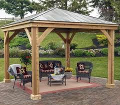Backyard Pavilion Kits Outdoor Goods
