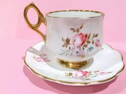 roses teacups rosina tea cup and saucer gold cups rosina teacup and