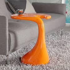 Orange Side Table Gavin Orange Side Table Modern Side Tables Eurway