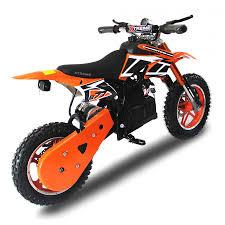electric motocross bike uk xtreme 36v 800w nitro dirt bike in orange xtreme toys