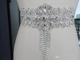 wedding dress sashes 2017 newest handmade beaded bridal sashes belts