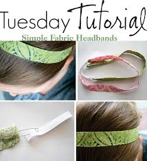 fabric headbands fabric headband can be made with scraps would be great to