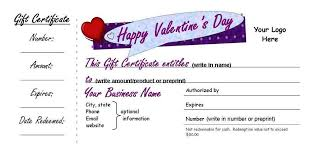 customized gift cards s day customized gift certificates small businesses 3