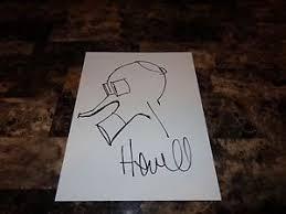 jamie hewlett rare hand signed sketch original artwork the