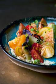 cuisine mascarpone tomatoes with wasabi mascarpone and pine nuts salad recipes