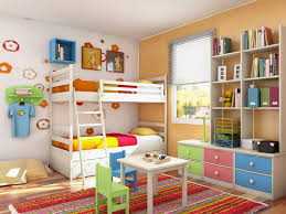 Twin Bedroom Ideas by Ideas Pretty Kids Bedroom Ideas In Lime And Orange Colour