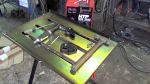 Folding Welding Table Stronghand Nomad Welding Table Unboxing First Impressions And
