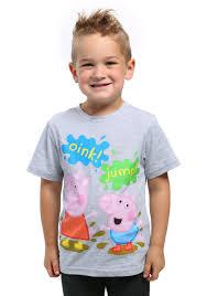 Toddler Pig Costume Halloween Peppa Pig U0026 George Pig Mud Puddles Toddler Tee Boys