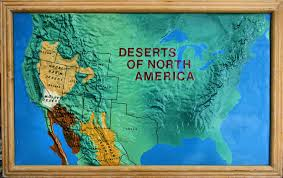 us desert map deserts of america this was a map that was on displa flickr