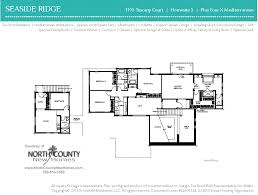 seaside ridge floor plans new construction homes for sale