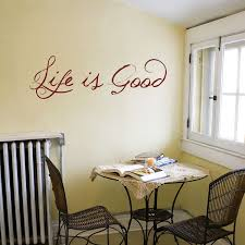 Dining Room Decals Life Is Good Quote Wall Decals Stickers Graphics