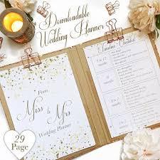 downloadable wedding planner downloadable wedding planner printable planner kit planning