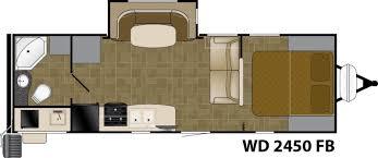Wilderness Rv Floor Plans Wd 2450 Fb Heartland Rvs
