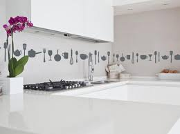 White Kitchen Backsplashes Decorations Great Design Ideas Of Unusual Kitchen Backsplashes