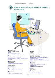 guide d ergonomie travail de bureau guide pratique du travail sur écran