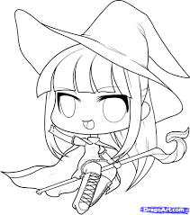Easy To Draw Halloween by Halloween Witch Drawings U2013 Fun For Halloween
