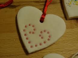 show tell baking soda clay ornaments