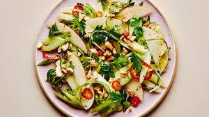 celery apple and peanut salad recipe bon appetit