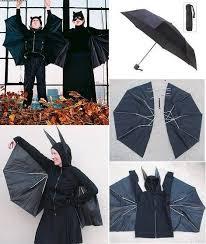 Umbrella Halloween Costume Recycle Umbrella Bat Halloween Costume
