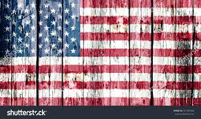 Old Flag Usa Flag Usa Painted Onto Old Wooden Stock Photo 427462306 Shutterstock