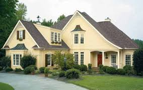 house painting ideas exterior house paint colors with brown roof