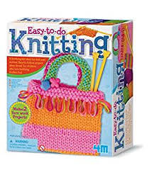 4m knitting kit toys