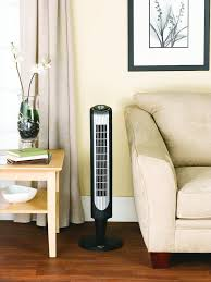 best oscillating tower fan best quiet floor standing fans with remote control for living