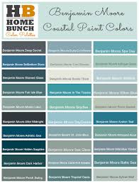 Powder Blue Paint Color by Benjamin Moore Color Palette Benjamin Moore Coastal Teal Aqua