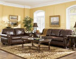 interior impressive living room color and cream leather