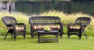 Wicker Patio Table Set Wicker Patio Furniture Sets Dans Design Magz Wicker Patio