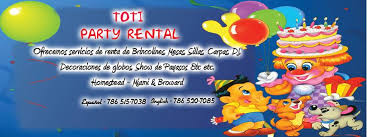 party rental miami toti party rental