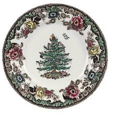 spode tree grove bread butter plate set of 4