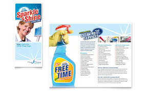 commercial cleaning brochure templates house cleaning housekeeping brochure template word publisher